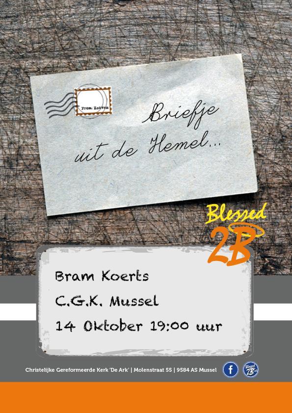 briefje uit de hemel bram koerts 14 oktober